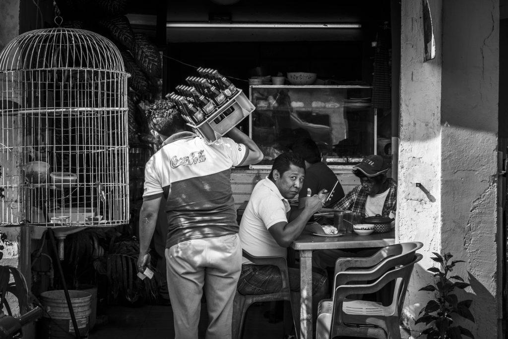yucatan, mexico, coca cola, breakfast, restaurant, taqueria, small, travel, photo