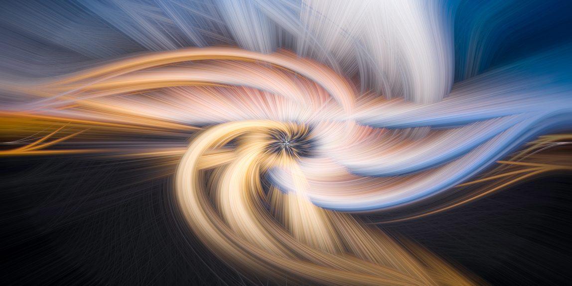 efecto twirl molinete