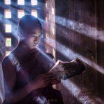 Bagan novice portrait myanmar