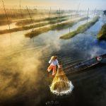 viaje fotografico myanmar pescadores
